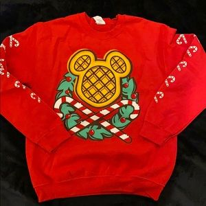 Mickey Waffle Holiday Sweater